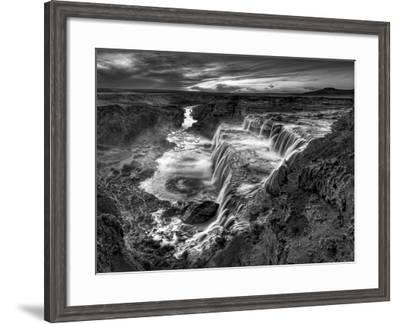 B&W Desert View II-David Drost-Framed Photographic Print