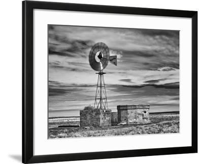 B&W Desert View VI-David Drost-Framed Photographic Print