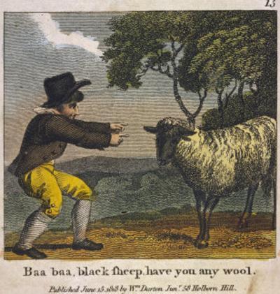 Baa Baa Black Sheep Have You Any Wool?