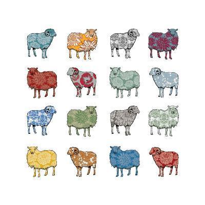 Baa Humbug, 2012-Sarah Hough-Giclee Print