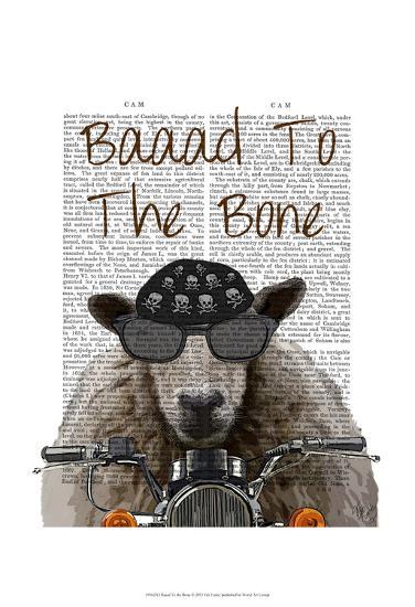 Baaad To the Bone-Fab Funky-Art Print