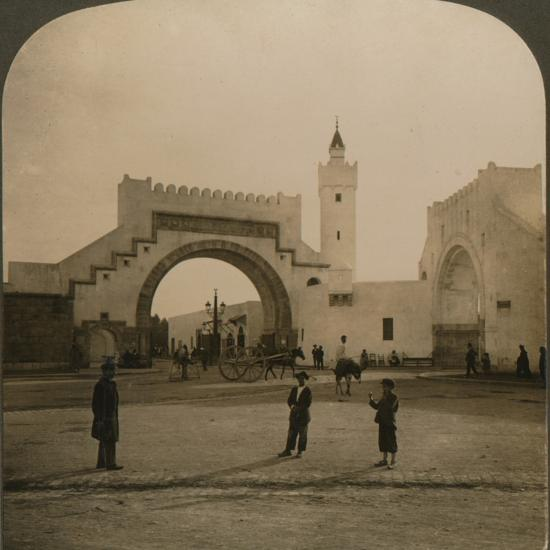 'Bab el-Hathera, Tunis, Tunis', 1901-Unknown-Photographic Print