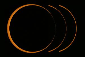 A Composite Image of an Annular Solar Eclipse by Babak Tafreshi