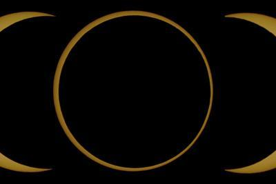 A Composite Image of an Annular Solar Eclipse by Babak Tafreshi