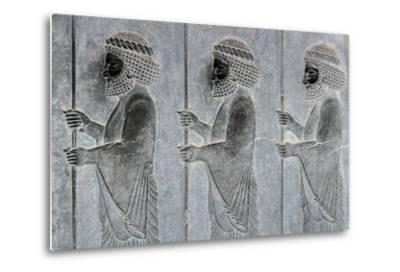 A Frieze Depicting the Persian Immortals, on the Eastern Stairs of the Apadana Palace