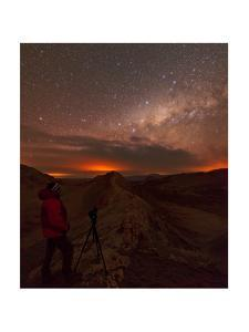 A Night-Sky Photographer Captures the Milky Way Above the Valley of the Moon by Babak Tafreshi