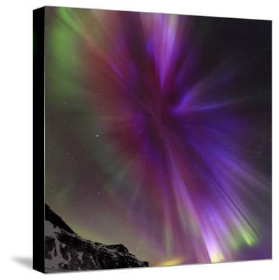 Aurora Borealis, the Northern Lights, in a Spectacular Crown, Aurora Corona