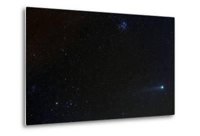 Comet Lovejoy Near the Pleiades Star Cluster During its Closest Approach to Earth, in January 2015