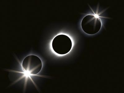 Composite Photo Sequence of the Longest Total Solar Eclipse of the 21st Century by Babak Tafreshi