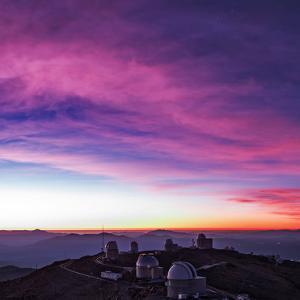Evening Twilight Begins over La Silla Observatory by Babak Tafreshi