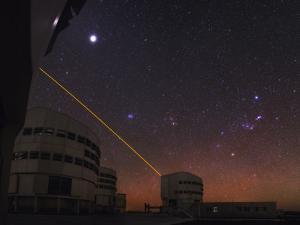 Jupiter, Orion, and Taurus over the Very Large Telescope at the European Southern Observatory by Babak Tafreshi