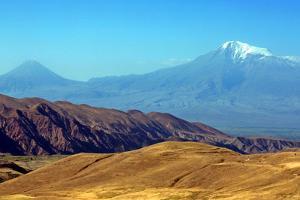 Mount Ararat, or Agri Dagi Eastern View, as Seen from Armenia by Babak Tafreshi