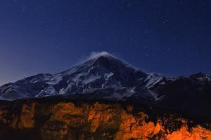 Night Sky over Mount Damavand, the Highest Peak in the Middle East by Babak Tafreshi