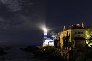 Night View of the Historic Santa Marta Lighthouse and Museum, on the Atlantic Coast by Babak Tafreshi