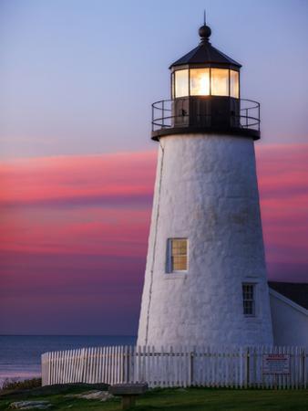 Sunrise at the Historic Pemaquid Point Lighthouse on the Atlantic Coast by Babak Tafreshi