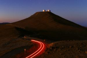 The Cerro Paranal Observatory Sits on a Peak in the Atacama Desert by Babak Tafreshi