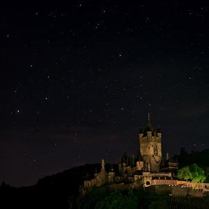The Constellation Scorpius over Cochem Castle, on the Banks of the Moselle River by Babak Tafreshi