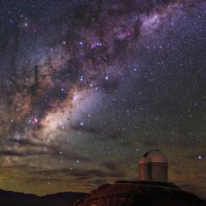 The Milky Way Appears over the European Southern Observatory by Babak Tafreshi
