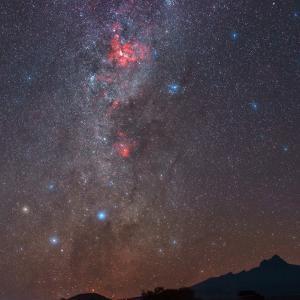 The Milky Way, Carina Nebula, Eta Carinae, Star Clusters, Southern Pleiades, Crux, Coalsack Nebula by Babak Tafreshi
