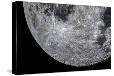The Moon Through a Telescope with Features in the Southern Highland Region