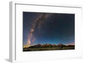 The Night Sky over Grand Teton National Park by Babak Tafreshi
