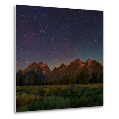 The Night Sky over the Teton Range