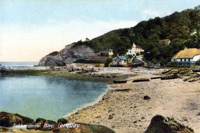 Babbacombe Bay, Torquay, Devon, 20th Century-Francis Frith-Giclee Print