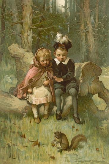 Babes in the Woods-John Lawson-Giclee Print