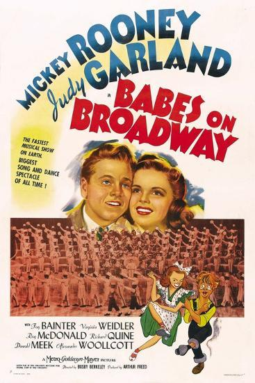 Babes on Broadway--Art Print