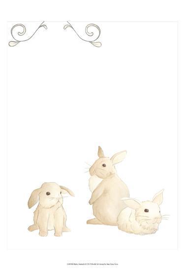 Baby Animals I-June Erica Vess-Art Print