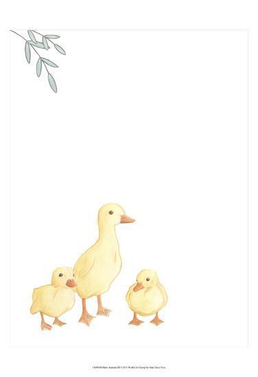 Baby Animals III-June Erica Vess-Art Print