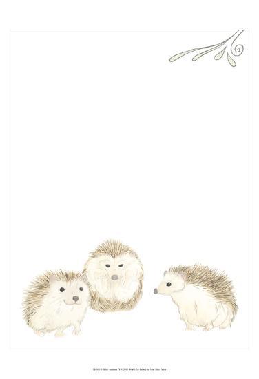Baby Animals IV-June Erica Vess-Art Print