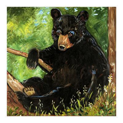 Baby Bear-Suzanne Etienne-Art Print