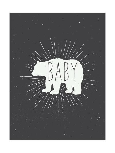 Baby Bear-Kindred Sol Collective-Art Print