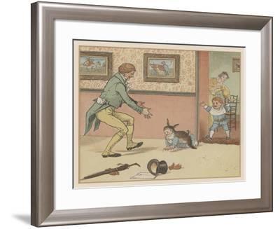 Baby Bunting-Randolph Caldecott-Framed Giclee Print