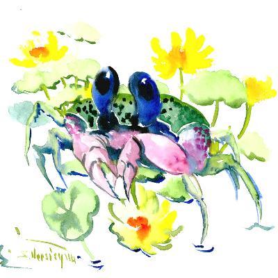 Baby Crab Blue Eyes-Suren Nersisyan-Art Print