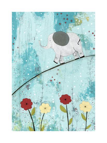Baby Elephant Walk-Sarah Ogren-Art Print