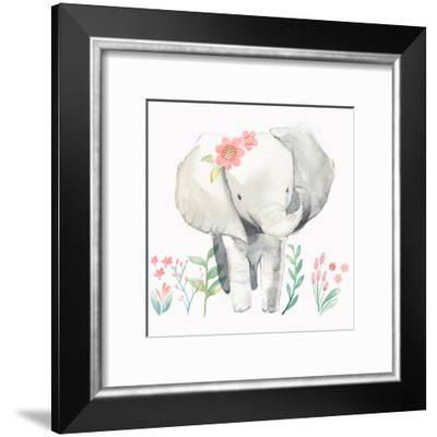 Baby Elephant-PI Creative Art-Framed Art Print