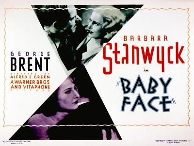 Baby Face, Douglass Dumbrille, Barbara Stanwyck, 1933--Photo
