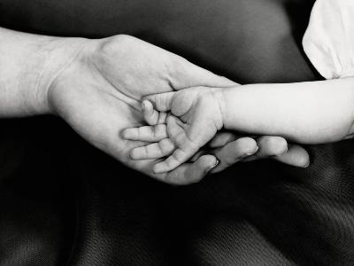 Baby Girl's Hand in Mother's Hand, Close-Up-H^ Armstrong Roberts-Photographic Print