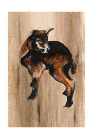 Baby Goat-Patsy Ducklow-Art Print