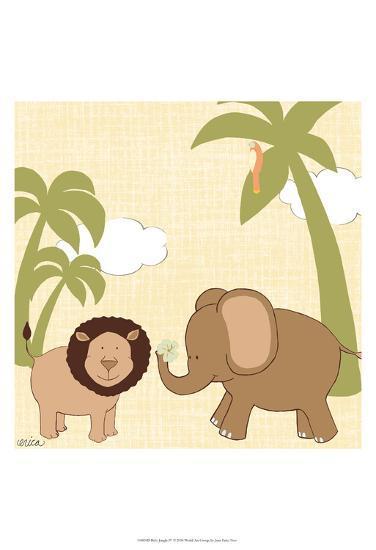 Baby Jungle IV-June Erica Vess-Art Print