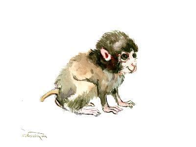 Baby Monkey-Suren Nersisyan-Art Print