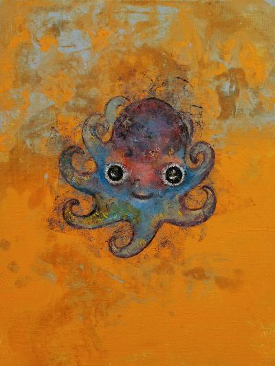 Baby Octopus-Michael Creese-Art Print