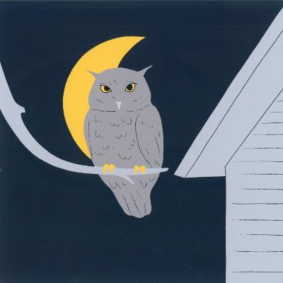 Baby Owl I-Sophie Hanin-Art Print