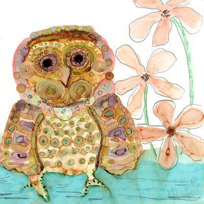 Baby Owl-Wyanne-Giclee Print