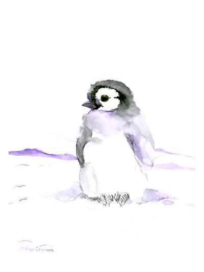 Baby Penguin-Suren Nersisyan-Art Print