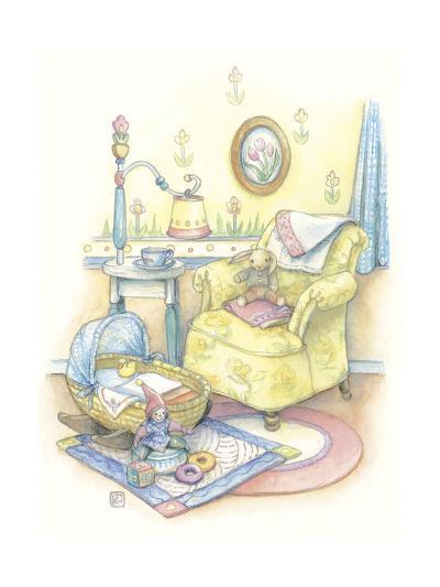 Baby's Chair-Kim Jacobs-Giclee Print