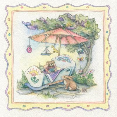 Baby's Parasol-Kim Jacobs-Giclee Print