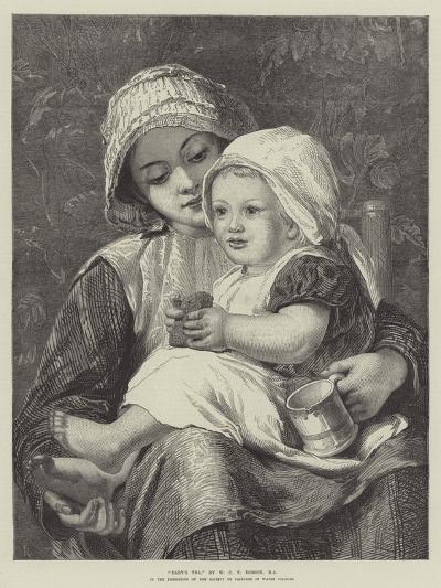 Baby's Tea-William Charles Thomas Dobson-Giclee Print